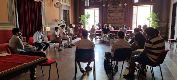 Asti: cittadini afghani ricevuti in Municipio