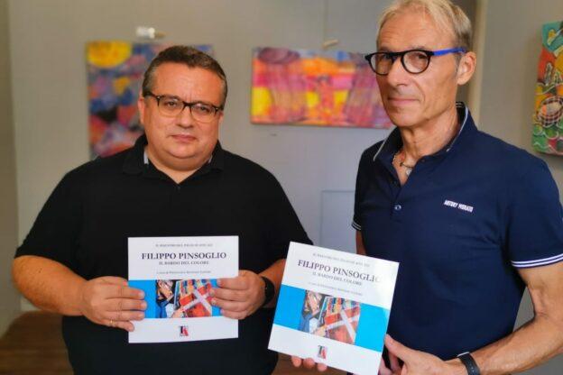 """Asti, a Palazzo Mazzola presentazione del libro """"Filippo Pinsoglio – Il bardo del colore"""""""