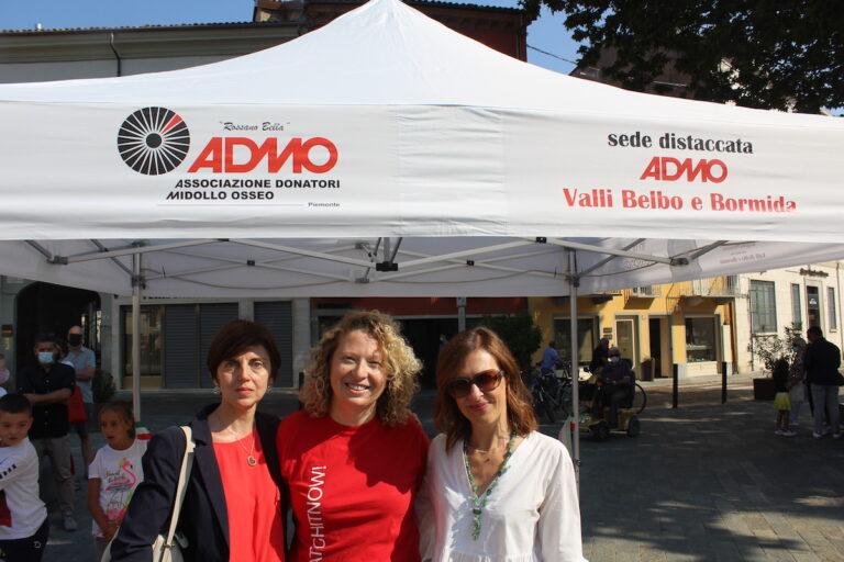 Inaugurato a Canelli nuovo Stand Informativo Admo Valli Belbo e Bormida