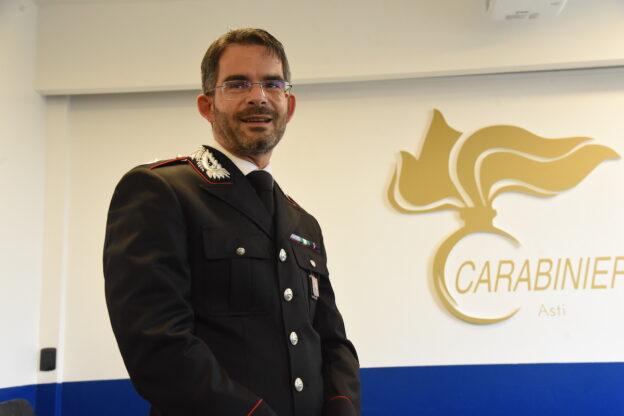 Asti, cambio al vertice del reparto operativo dei carabinieri