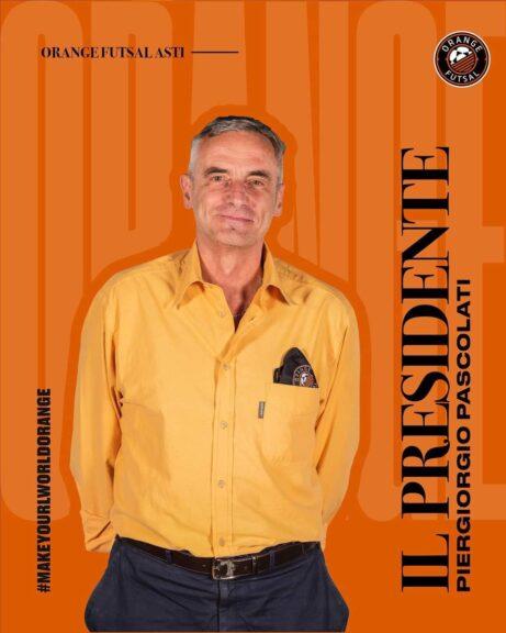 Futsal, parla il rpesidente degli Orange Piergiorgio Pascolati