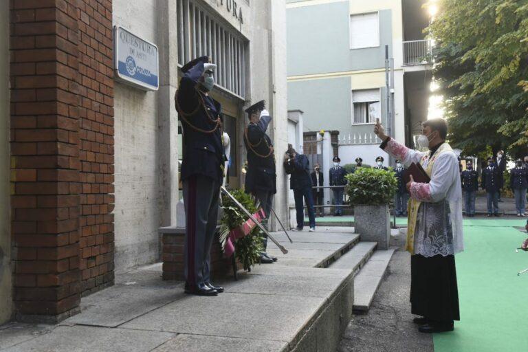 Asti, la polizia celebra San Michele Arcangelo: la fotogallery