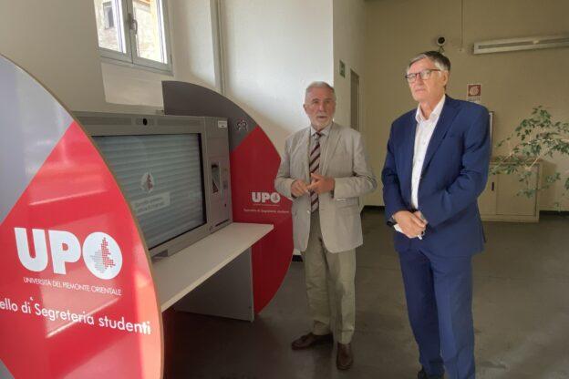 La tecnologia al servizio degli studenti: inaugurato a Uniastiss lo sportello remoto 4.0 dell'Upo