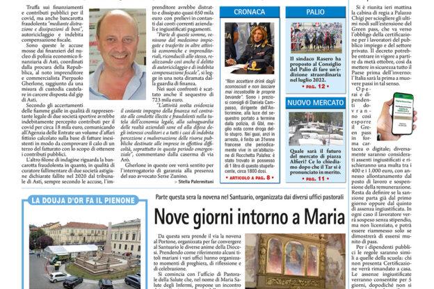 Prima pagina – 17 settembre 2021