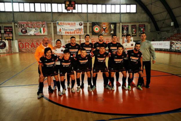 Buona la prima per l'Orange Futsal Asti