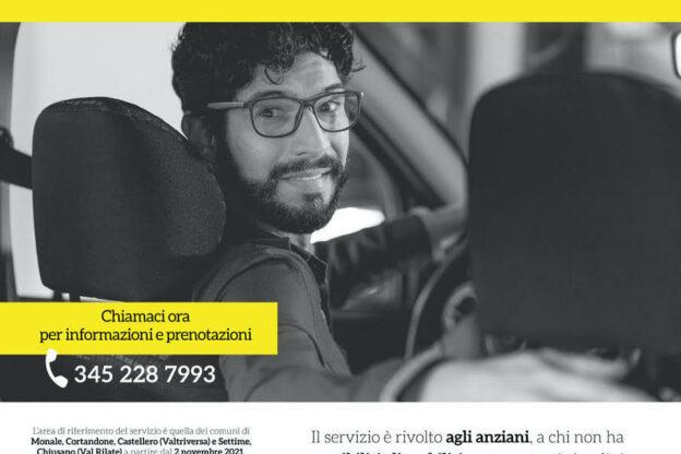 Nell'Astigiano nasce il taxi sociale